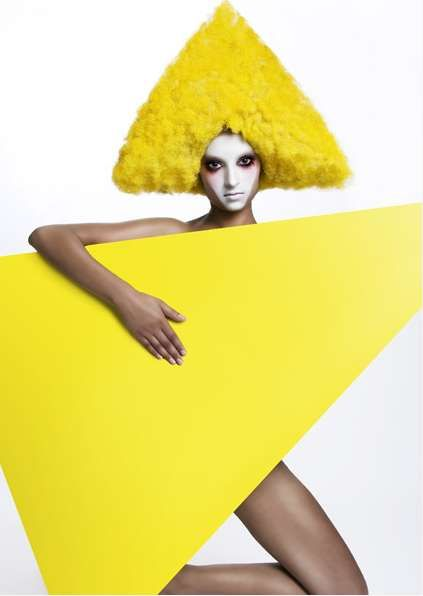 Clown Wig Couture: Kelly Thompson's Photography Plays Around With Circus Color