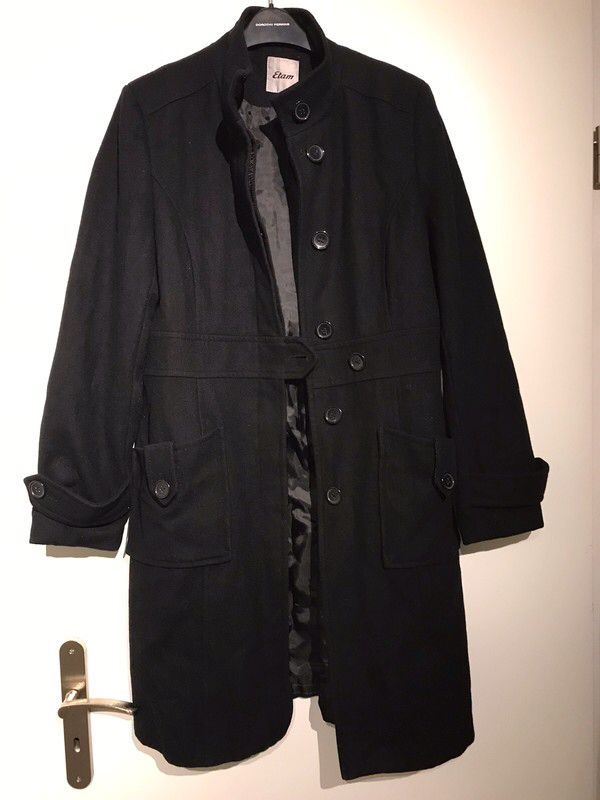 Manteau court noir Etam Vinted