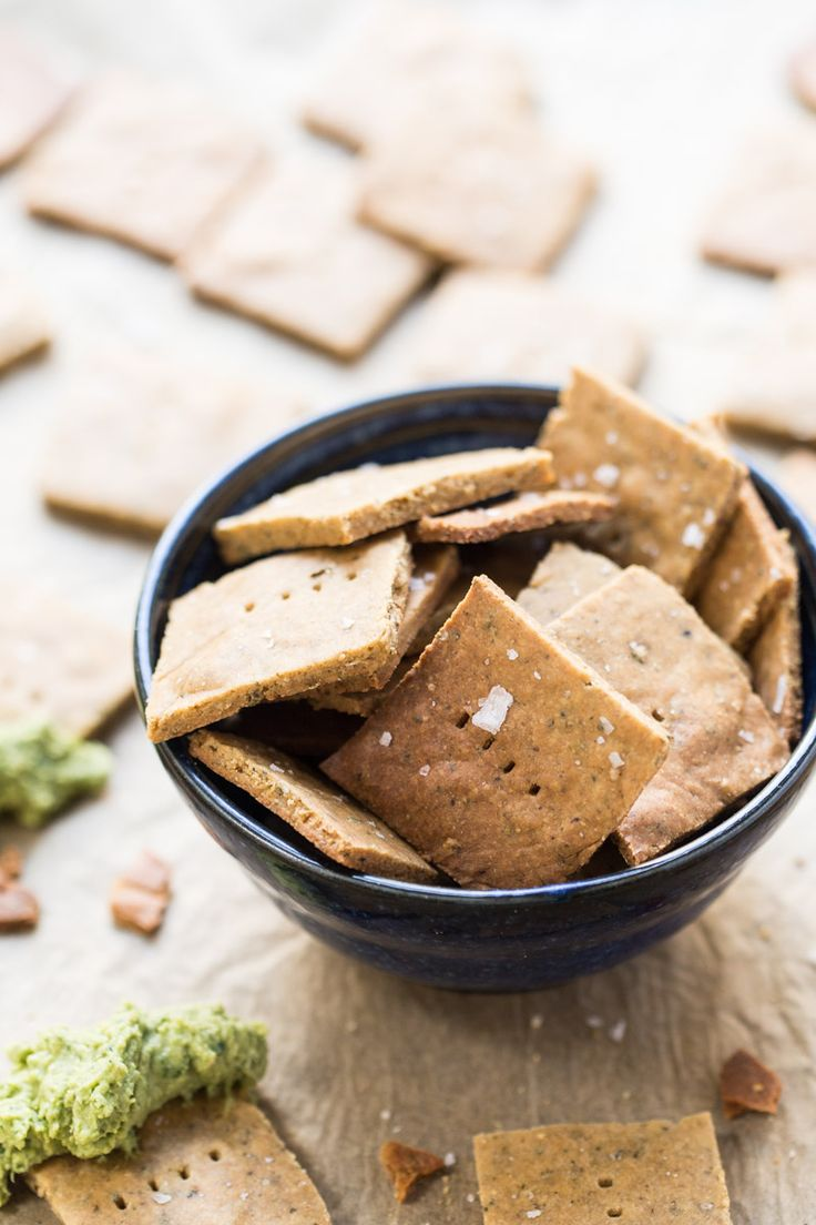 If you need a quick, healthy, high-protein snack, reach for these Gluten-Free Quinoa Crackers! Easy to make, extra crispy and go with all your favorite dips