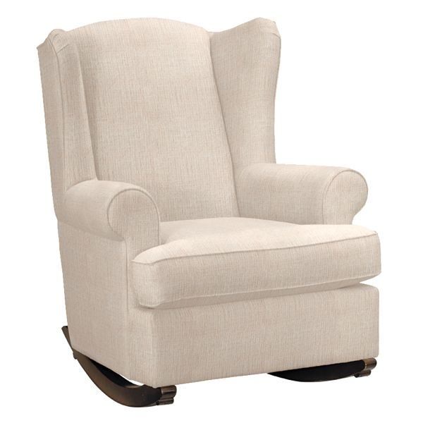 Wingback Rocking Chair So fy