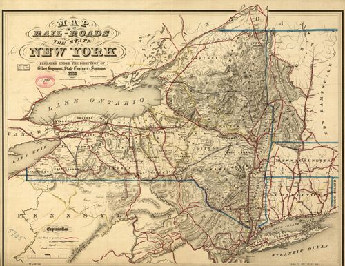 17 Best Images About Railroad Maps On Pinterest New York