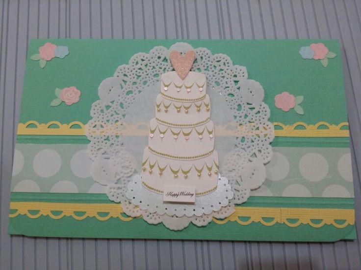 Wedding voucher card
