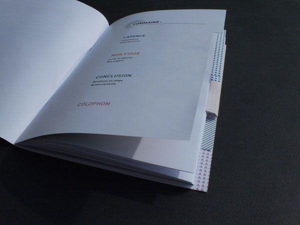 Rapport de stage - BTS communication visuelle, 2010 - Céline Jonquet