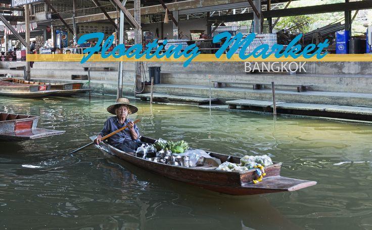 Früher wurde Bangkok mit seinen zahlreichen Kanälen »Venedig des Osten« genannt. Die Kanäle dienten dem Transport von Waren. Es entstanden zahlreiche schwimmende Märkte. Mittlerweile wurden die meisten Kanäle zugeschüttet, um Straßen zu bauen. Viele schwimmende Märkte verschwanden. Allerdings werden einige Märkte heute noch für Touristen inszeniert. Bekannt sind vor allem der Damnoen Saduak Floating Market und der Amphawa Floating Market.