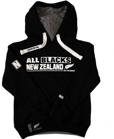 New Zealand All Blacks Rugby Kids Fashion Hoodie