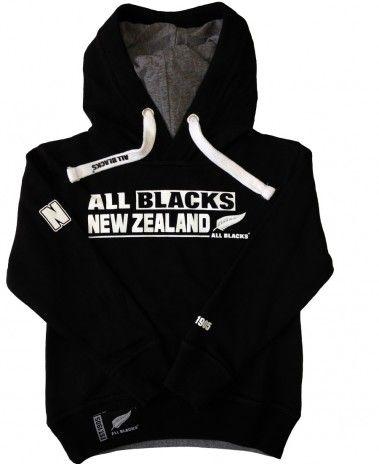 New Zealand All Blacks Rugby Kids Fashion Hoodie