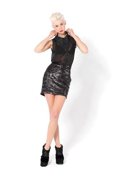 Nixie Nero Skirt, $200AUD