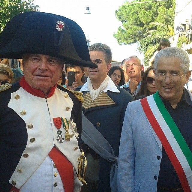 #ShareIG #Napoleone ricevuto dal sindaco #RioMarina #elba200 #isoladelba