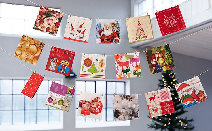 Christmas napkins for every taste Duni