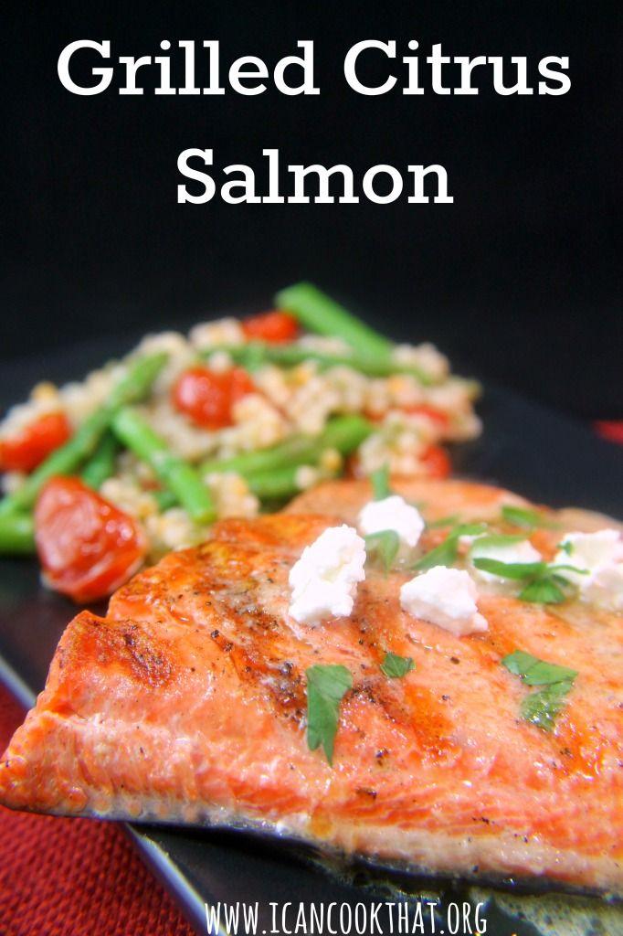 LongHorn Steakhouse's Grilled Citrus Salmon Recipe #sponsored