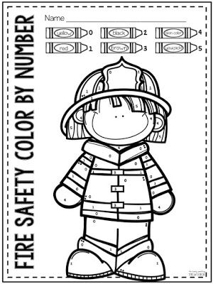 TpT Fire Safety Freebie Perfect