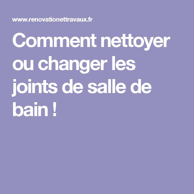 Temps De Schage Joint Silicone Douche Changer Le Joint Silicone