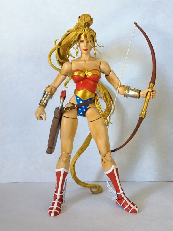 Artemis (DC Universe) Custom Action Figure | Custom Action ...