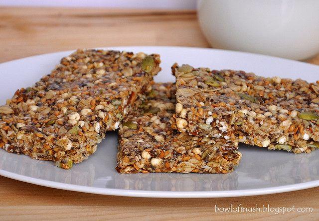 Healthy No-Bake Granola Bars by A Bowl Of Mush, via Flickr