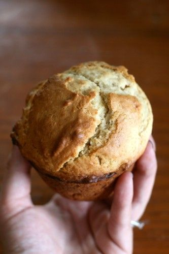 Jumbo Bakery-Style Banana Nut Muffins Add ground flax seed