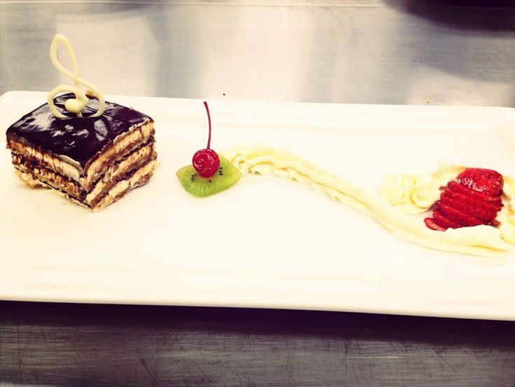 Coffee Meets Chocolate in the This Classic French Opera Cake