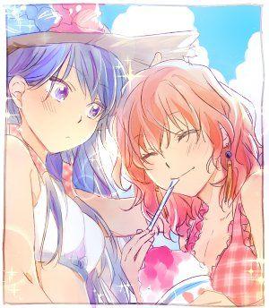 Akatsuki no Yona / Yona of the dawn anime and manga    Yona and Lili