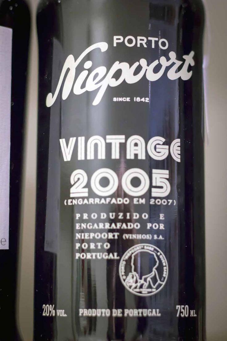 2005 Niepoort Vintage Porto, migliori vini dolci, miglior Porto, vino panettone