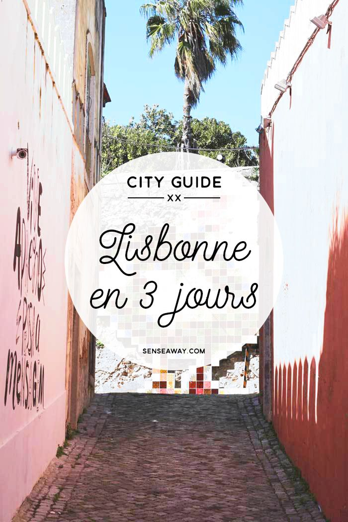 Visiter Lisbonne en 3 jours - City guide avec itinéraires de journées #lisbonne #lisbon #cityguide #portugal #travel #voyage #itinéraire