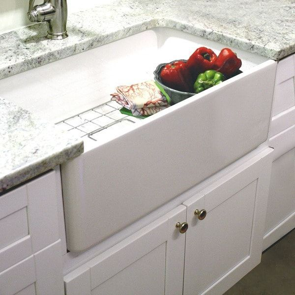 Wonderful Kitchen Lowes Farmhouse Kitchen Sink Renovation: Highpoint Collection 30-inch Single Bowl Fireclay