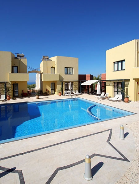 Villas in Crete for short term rent, four (4) outstanding villas, just 200m from the sea waves, which will ensure that your stay in Crete will become an unforgettable experience; now available for the short term rent...