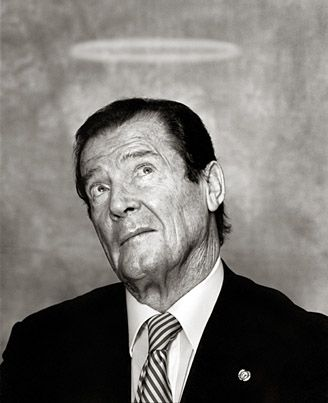 Roger Moore - Man with the Golden Gun ;)