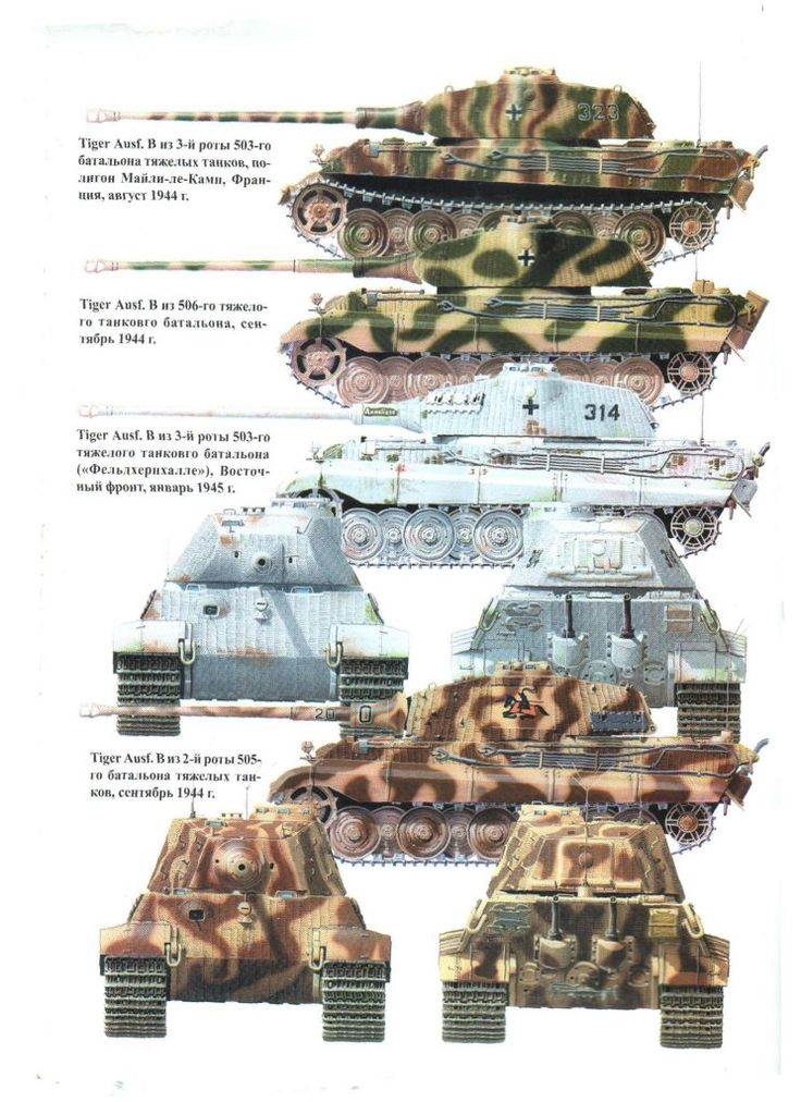 137 Best Images About Ww2 German Tank Colour Shemes On