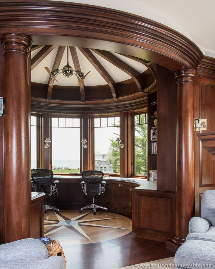 Custom home office pictures