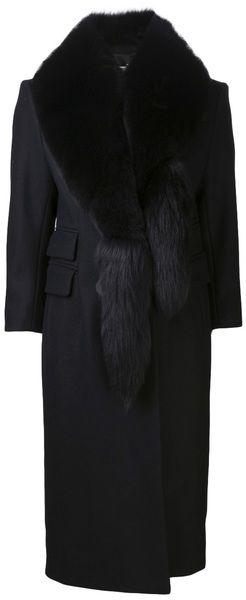 ALTUZARRA Black Lara Coat - Lyst