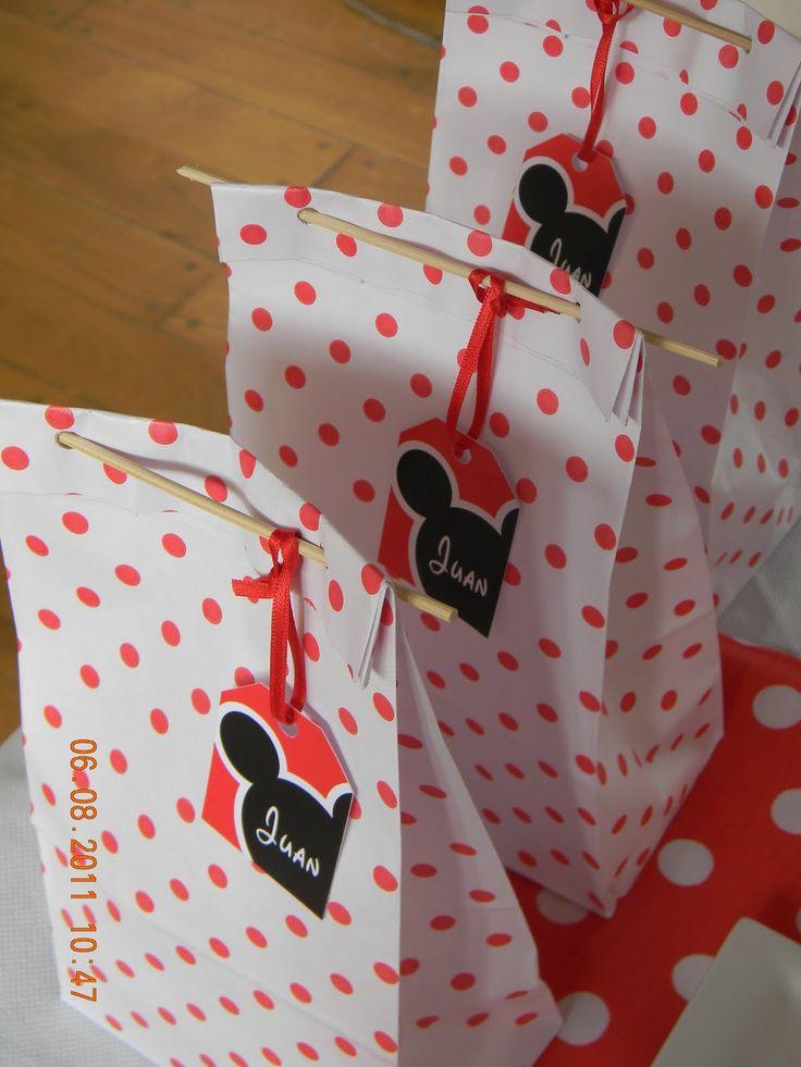 Bolsitas Carameleras Cumpleanos Mickey Y Minnie Mouse Ajilbab