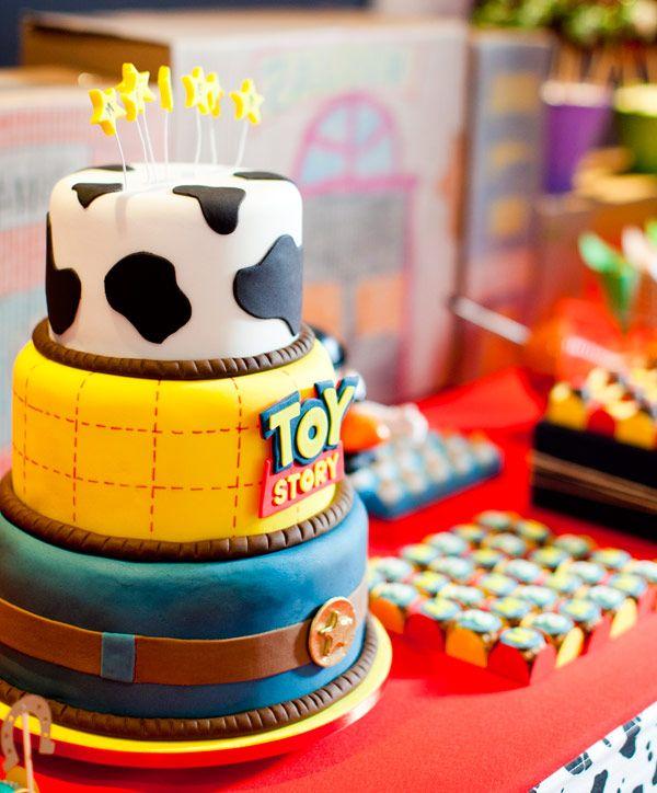 Aniversário: tema Toy Story #ToyStory #Woody #BuzzLightyear