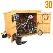 The BillyOh Pent Bike Store Range - looks good. Great reviews