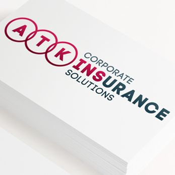 Brand identity for ATK Corporate Insurance Solutions by Design Eleven.