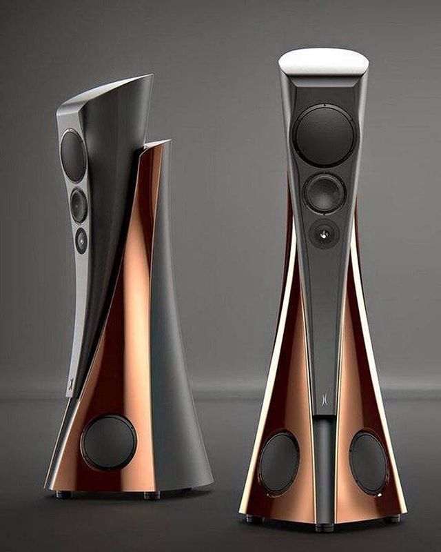 The stunning looking Estelon Extreme Speakers #TheSpeakerShack #Esteleon #Extreme #Speakers #Audio #HighEnd #Music