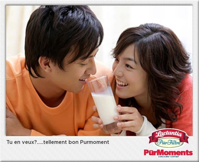 J'ai just ecris un sous-titre  sur le photo de jour de Lactantia Purmoments! Voyez-le-vous pouvais gagner une vacances pour 2013!