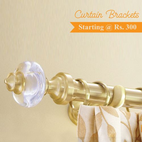 Complement the Beauty of Your Curtain With Our Durable, Stylish  Curtain Brackets @ ShopIN deal !! Visit: http://shopindeal.com/Details/-Are-You-Looking-for-Stylish-Curtain-Brackets-starting--Rs-300-Only/650/Chinchwad