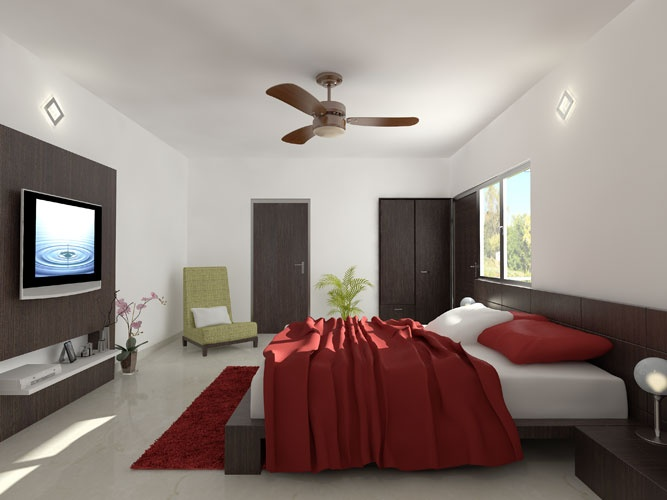 Beautifully designed bedrooms at Carnation Residency.