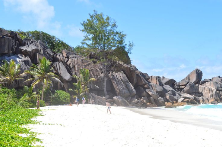 The Path from Grand Anse to Petite Anse - La Digue, Seychelles