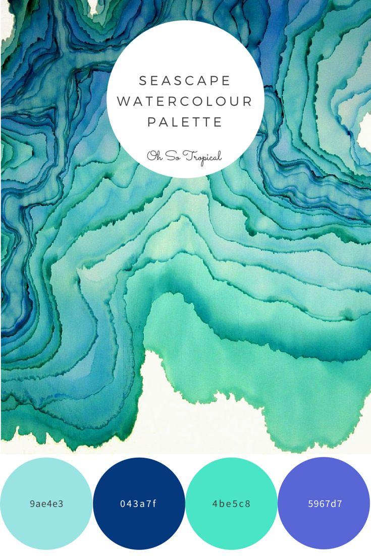 Seascape Palette - Oh So Tropical