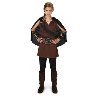 The Lady Huntress Tween Costume S(4-6), Red