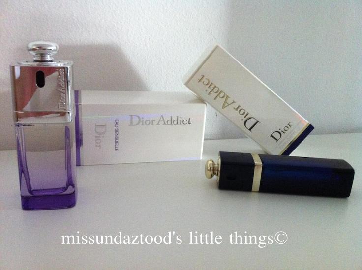 #dior addict & eau sensuelle