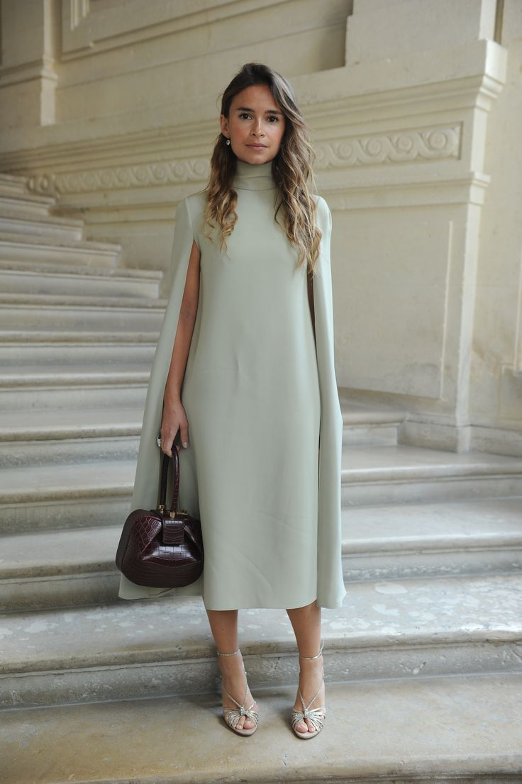Miroslava Duma wearing a Valentino dress from the Fall/Winter 2016-17 Collection  to the Valentino Haute Couture Fall/Winter 2016 - 2017 Fashion Show on July 8th  2016.