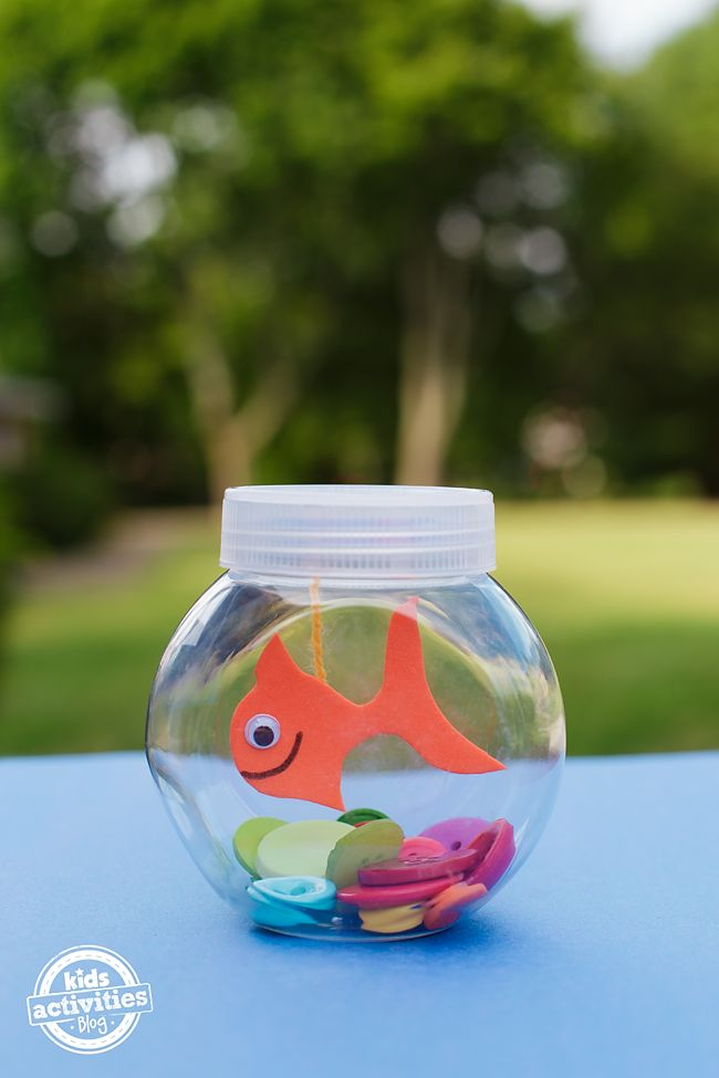 Mini Fishbowl Craft for Kids
