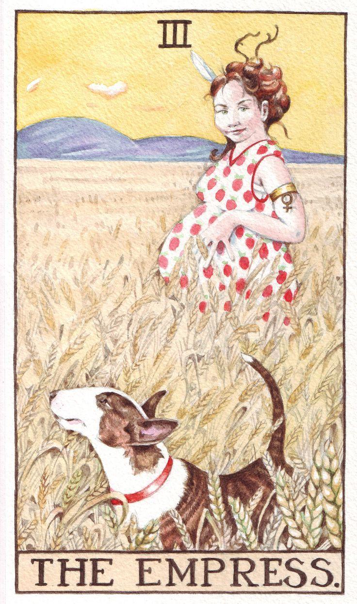 Le Tarot Egyptien De Dusserre: 393 Best Tarot Cards : The Empress Images On Pinterest