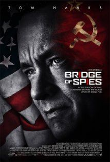 Bridge of Spies (2015)  A pretty good Cold War era film, great performance (as always) by Tom Hanks. Loved the period costumes and furnishings, too!
