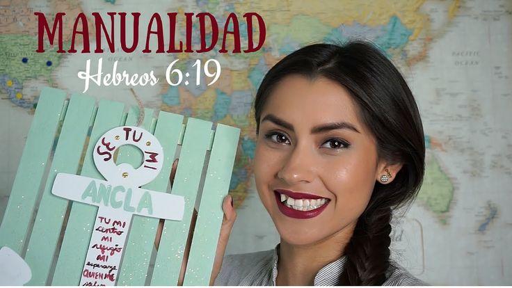 """Manualidad: Hebreos 6:19 """"Ancla"""" de Christine D' Clario"""