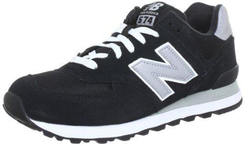 New Balance M574, Unisex-Erwachsene Sneakers, Schwarz (NK BLACK 8), 47.5 EU - http://on-line-kaufen.de/new-balance/47-5-eu-12-5-uk-13-us-new-balance-m574-unisex-sneakers