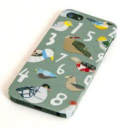 iPhone4/4Sケース「ことりかぞえて」