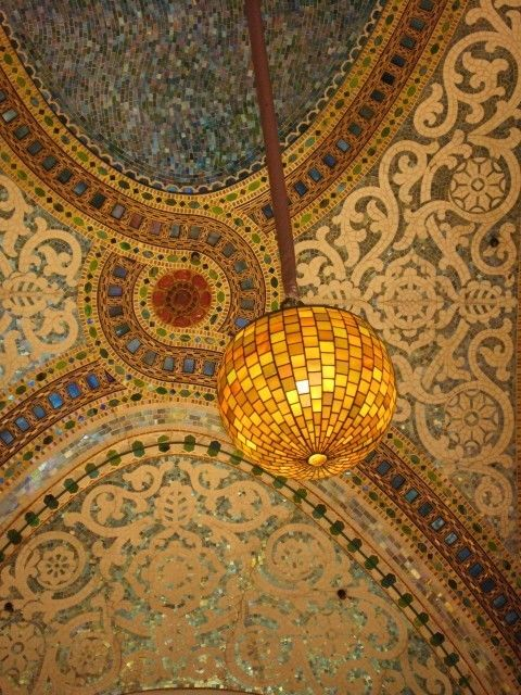 The Tiffany ceiling, Marshall Fields [nka Macy's] here in my town...Chicago!