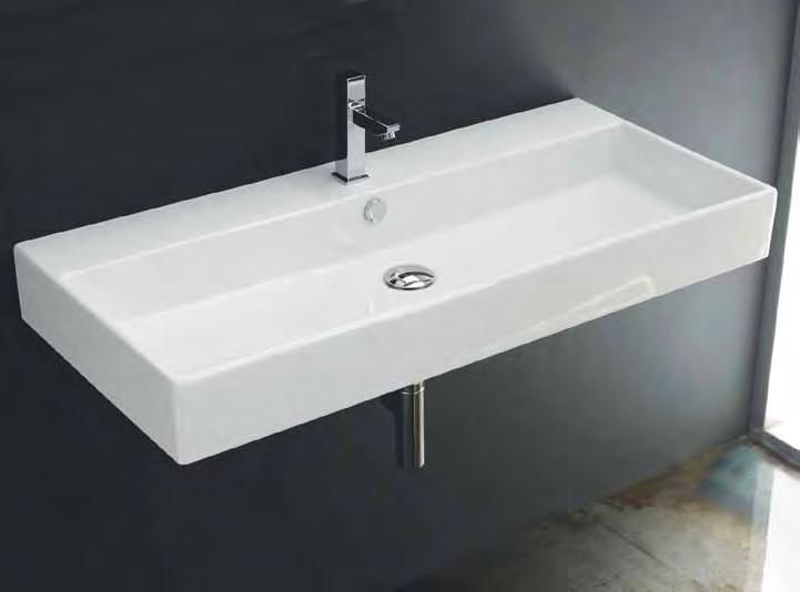 Luxury 48 Sydney Single Sink Integrated Bathroom Vanity  Bath Vanity